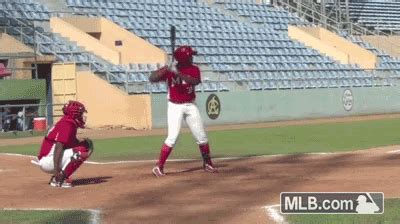 worst baseball swing ever get excited vladimir guerrero jr is mlb s no 2