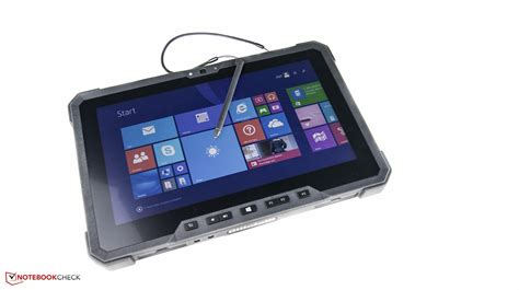 Dell Latitude 12 Rugged Tablet Review Notebookcheck Net Rugged Tablet For