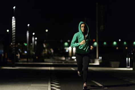 night running lights for joggers surviving the hazards of night running triathlon