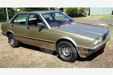 Maserati Biturbo 425i Sedan Auctions Lot 11 Shannons