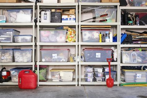 storage unit organization ideas 5 myths that her a clean clutter free house