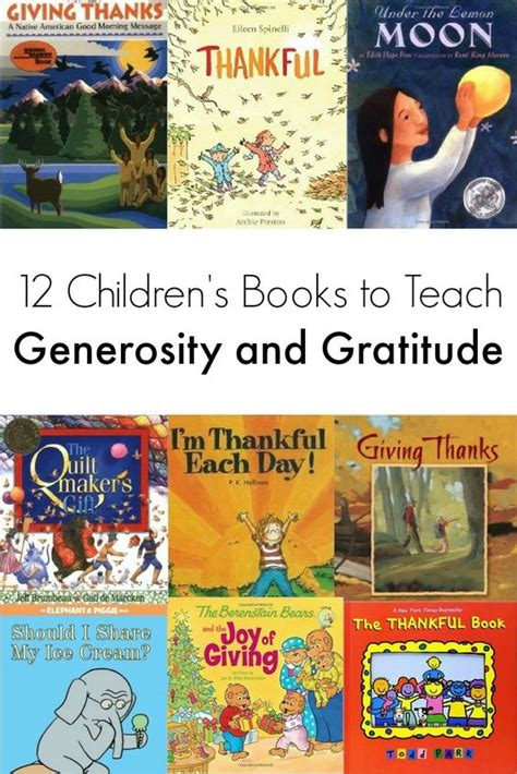 a grateful books 12 of the best books to teach generosity and