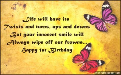Quotes For 1st Birthday Boy 1st Birthday Wishes Quotes Quotesgram