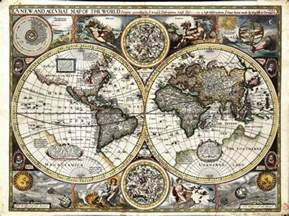 Map Of Ancient World by Ancient World Maps World Map 17th Century