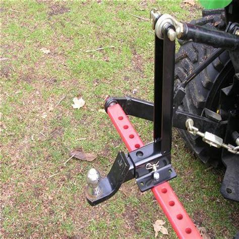 tractor 3pt hitch drawbar stabilizer