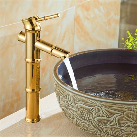How To Clean Polished Brass Bathroom Faucets The Homy Design Polished Gold Bathroom Faucets