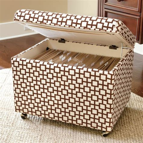 Hanging File Storage Ottoman File Storage Ottoman Show Me The Way Diy I Might Actually Try