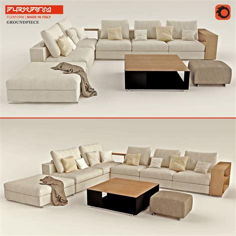 flexform groundpiece sofa flexform groundpiece sofa flexform ground piece sofa ex