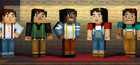 Play Store Minecraft Minecraft Story Mode Uitgebracht Voor Android In Play Store