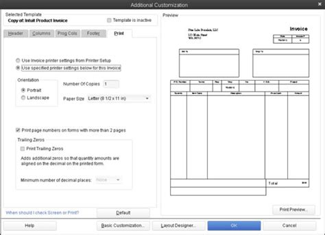 Sle Quickbooks Invoice Hardhost Info Pages Invoice Template