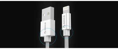 Kabel Data Orico Idc 10 Braided Apple Lightning Charger Cable orico 3 3ft 1m braided apple data cable