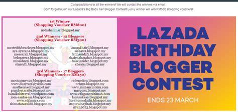blogger competition 2017 atiah m alhamdulilah lazada birthday blogger contest