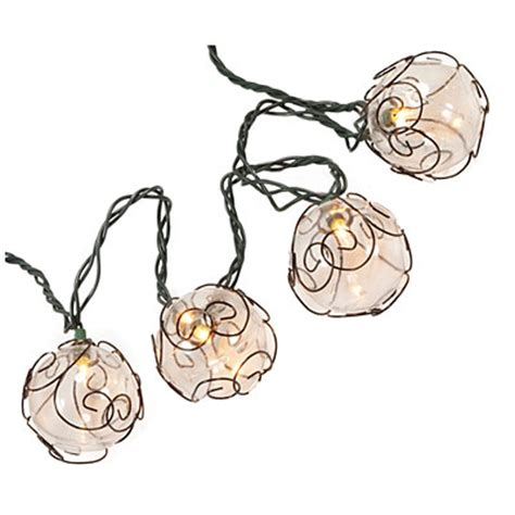 wilson fisher 174 wire globe light set 20 count big lots
