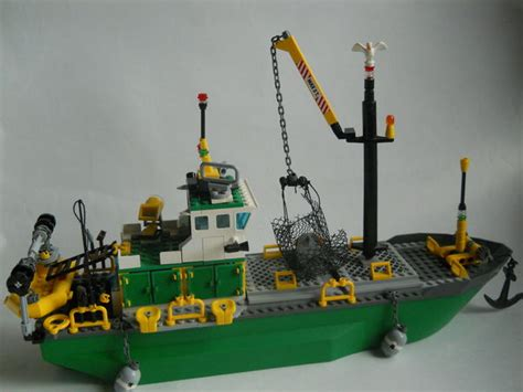 fishing boat lego fishing boat and sea boat lego town eurobricks forums