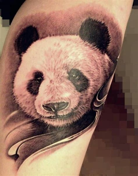 panda tattoo realistic 17 best images about panda tattoos on pinterest ink