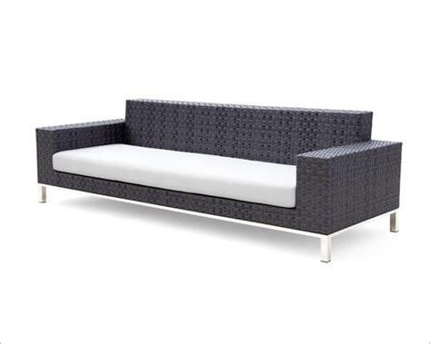 modern outdoor loveseat modern patio sofa set 44p109 set