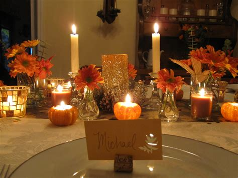 thanksgiving table decorations my thanksgiving table six twists