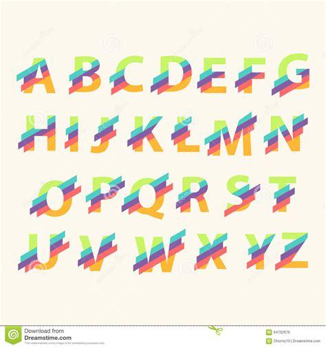free logo alphabet design letter alphabet logo design template elements stock vector