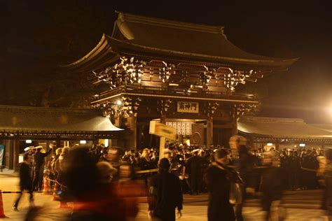 new year midnight temple ceremony new year s at meiji jingu shrine truly tokyo