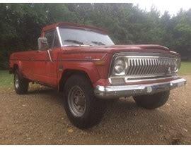 jeep j4000 for sale 1973 j4000 jeep truck