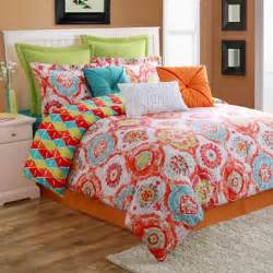 buy orange blue comforter sets from bed bath beyond