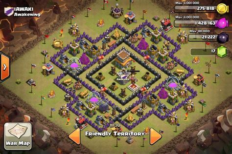 th8 layout coc guide war defence guide 1 awakening