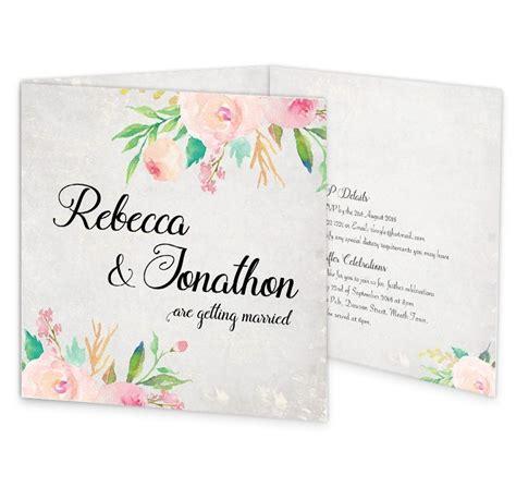 around the world tri fold wedding invite rsvp sample loving
