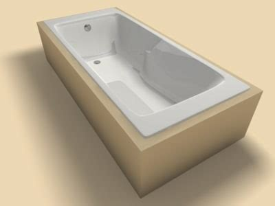 3d Bathtub Model
