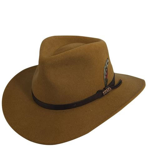 scala haus scala classico s crushable outback hat ebay