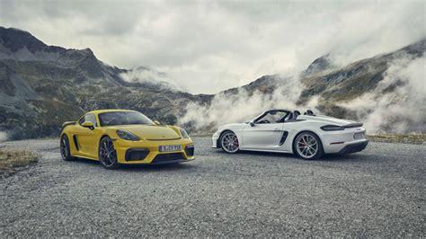 2020 The Porsche 718 by 2020 Porsche 718 Cayman Gt4 And 718 Spyder Flaunt 4 0 Flat