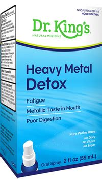 King Bio Heavy Metal Detox by Heavy Metal Detox Candida 2 Fl Oz 59ml King Bio