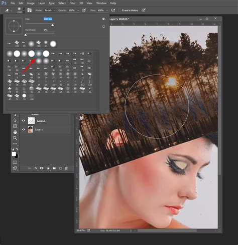 tutorial double exposure cs3 how to create double exposure effects in photoshop