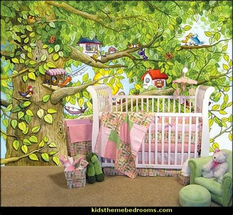 garden wall murals decorating theme bedrooms maries manor tree murals
