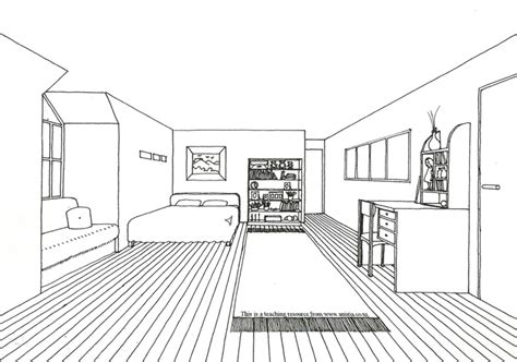 1 point perspective room 1000 images about one point perspective drawing on