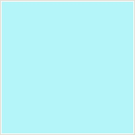 pale blue color b2f4f7 hex color rgb 178 244 247 baby blue