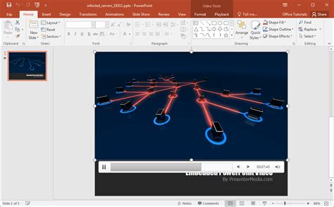 animated network security powerpoint template animated network security powerpoint template