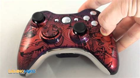 xbox tattoo modded xbox 360 controller exclusively from