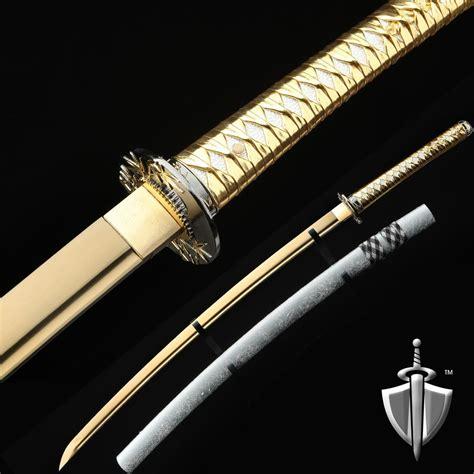 Handmade Katana Sword - fully handmade tang japanese samurai katana sword ebay