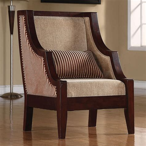 Striped Accent Chair Striped Accent Chair By Coaster 900322