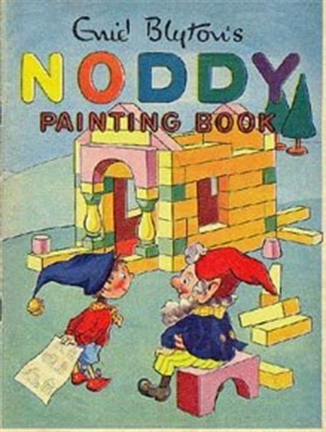noddy painting enid blyton s noddy painting book by enid blyton