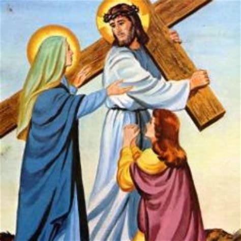 mary's way of the cross – saints john and andrew