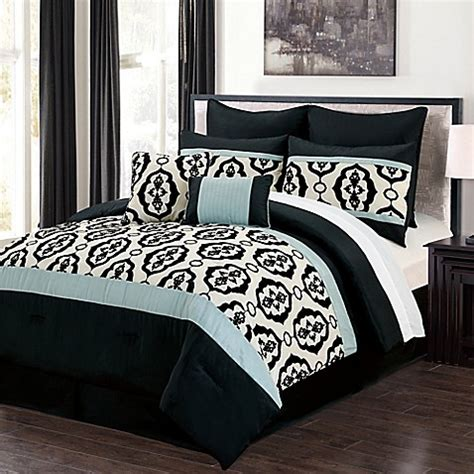Opal 8 Piece Comforter Set Bed Bath Beyond Bed Bath Beyond Comforter Sets