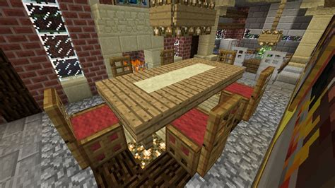 Dining Room Table Minecraft Minecraft Dining Room Minecraft Ideas