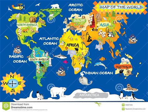 world maps for kids com world map for kids with roundtripticket me