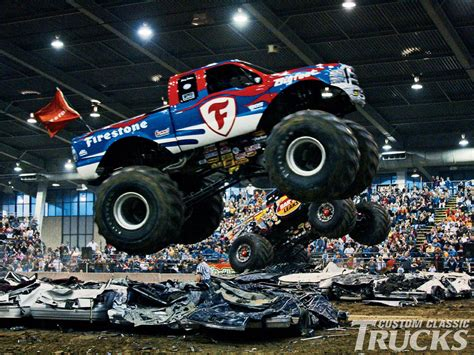 monster truck show in monster truck wallpapers hd download
