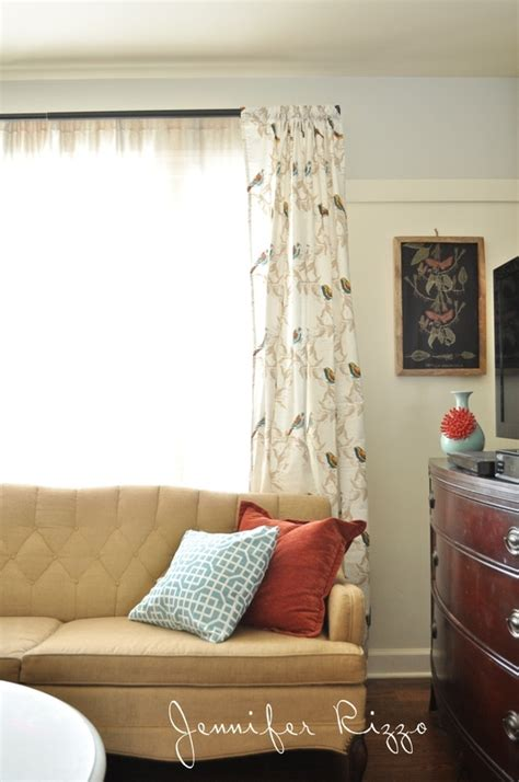 cute diy curtains  target tablecloths