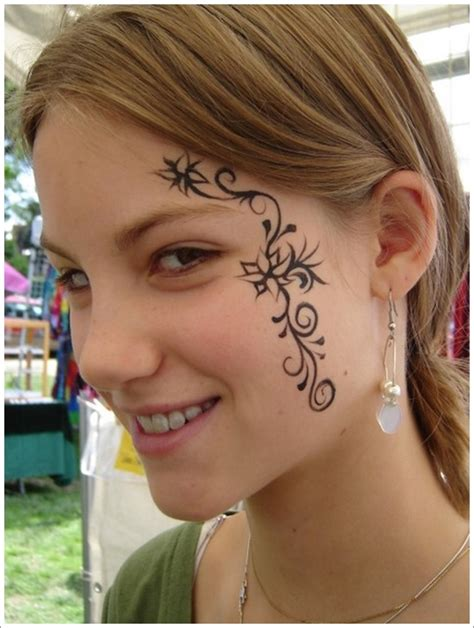 pretty face tattoo designs amazing brave tattoos tattoos beautiful