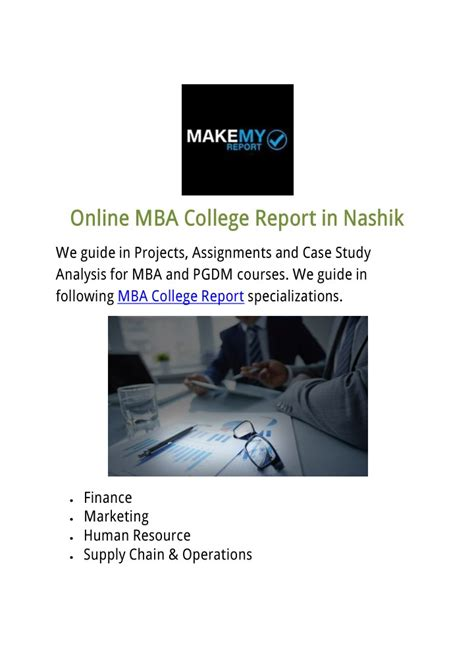 Mba Presentation Slides by Ppt Mba College Report In Nashik Powerpoint