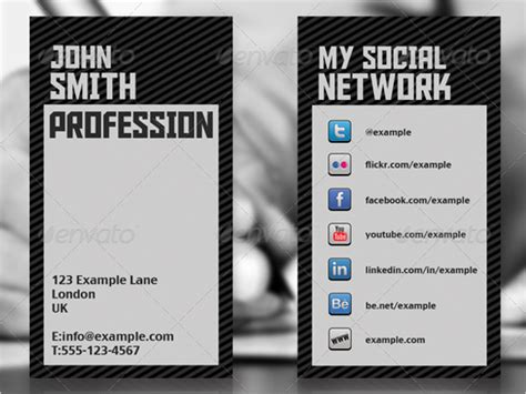 networking business card template word 20 networking business card templates free word sle