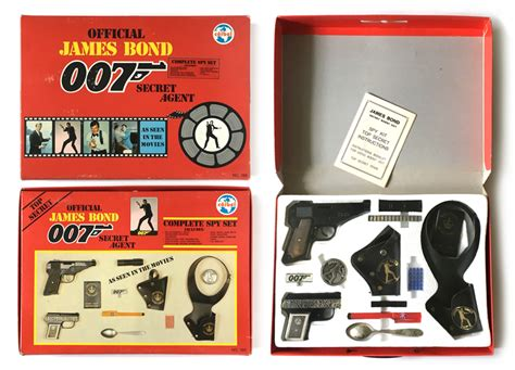007 Tips To Create A Bond Look by Bond 007 Toys Images